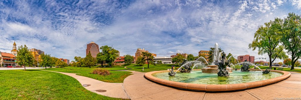 KC Country Club Plaza Pano View