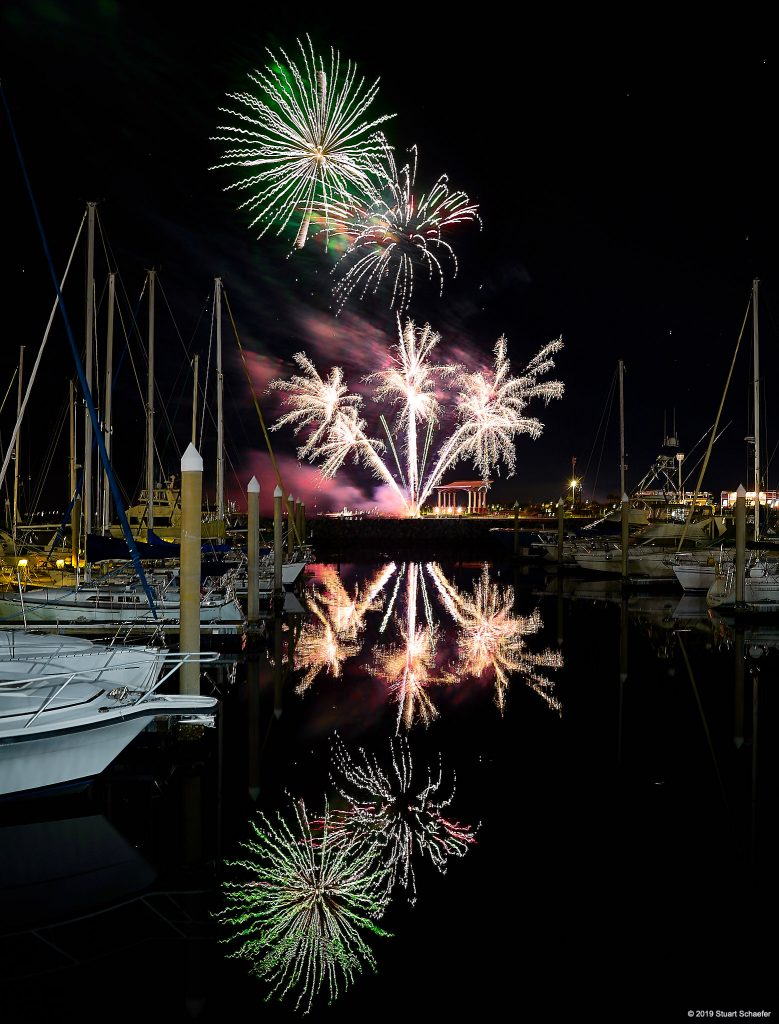Fireworks Palafox Pensacola Florida